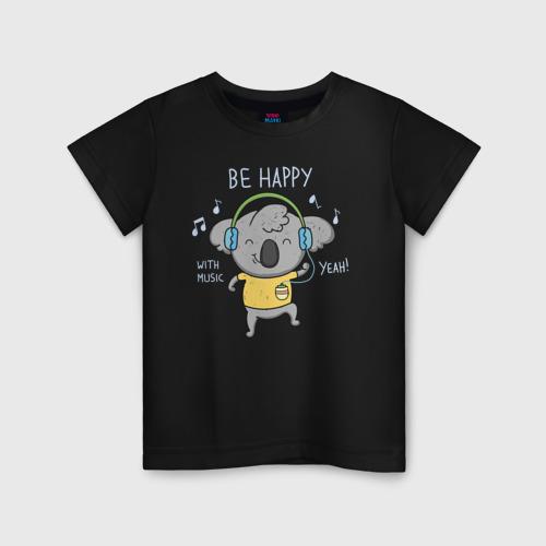 Детская футболка хлопок Коала