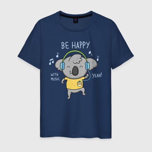 Мужская футболка хлопок Коала