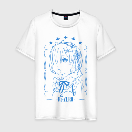 Мужская футболка хлопок Re: Zero Rem
