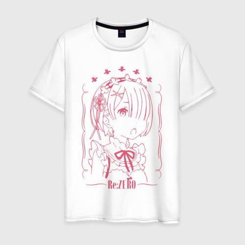 Мужская футболка хлопок Re: Zero Ram