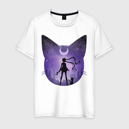 Мужская футболка хлопок Pretty Soldier Sailor Moon