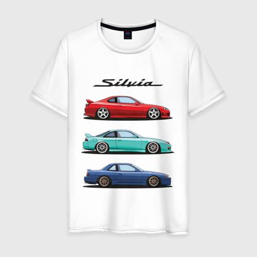 Мужская футболка хлопок Silvia Family