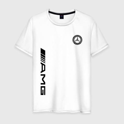 Мужская футболка хлопок MERCEDES-BENZ AMG