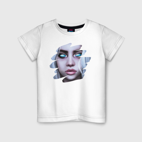 Детская футболка хлопок Ocean Eyes Eilish