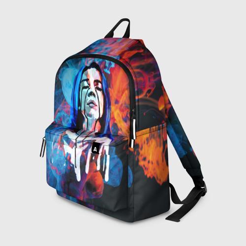 Рюкзак 3D Billie Eilish Smoke