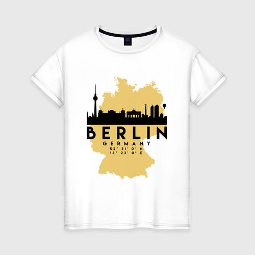 Женская футболка хлопок Берлин - Германия