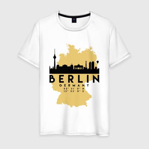 Мужская футболка хлопок Берлин - Германия