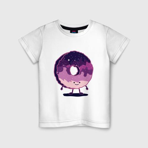 Детская футболка хлопок Space Donut