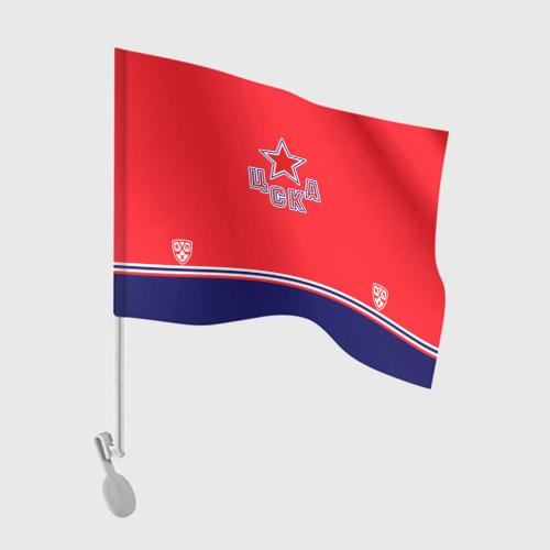 Флаг для автомобиля ЦСКА ХК