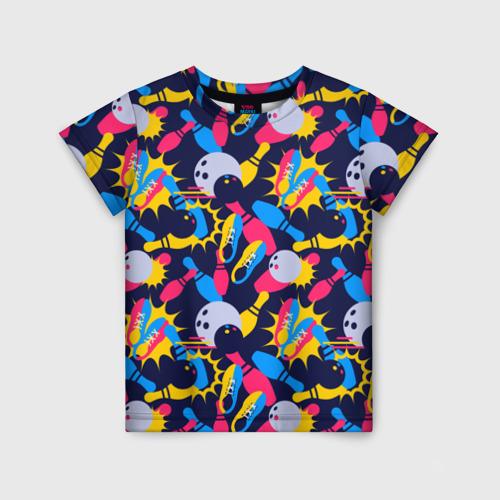 Детская футболка 3D Боулинг