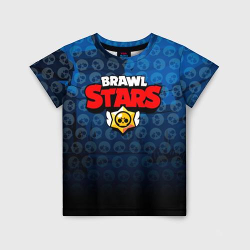 Детская футболка 3D BRAWL STARS