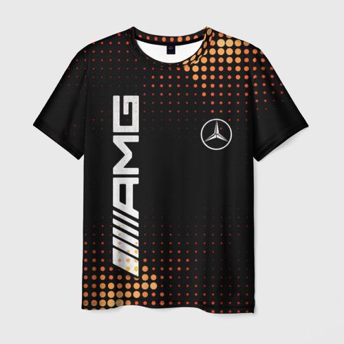 Мужская футболка 3D Mercedes