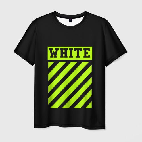 Мужская футболка 3D off-white