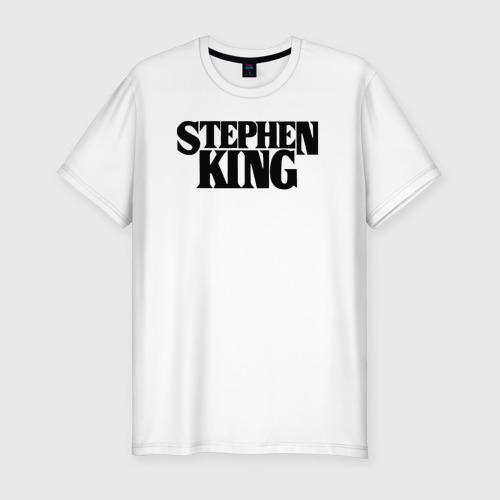 Мужская футболка хлопок Slim Стивен Кинг