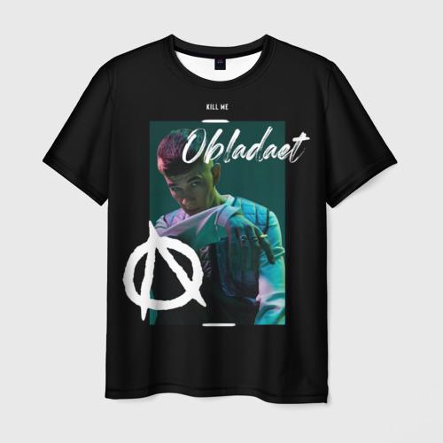 Мужская футболка 3D Obladaet