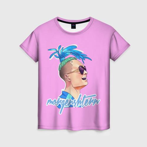 Женская футболка 3D моргенштерн