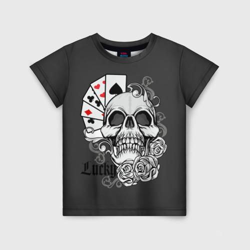 Детская футболка 3D Lucky
