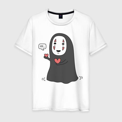 Мужская футболка хлопок Унесённые призраками. Безликий