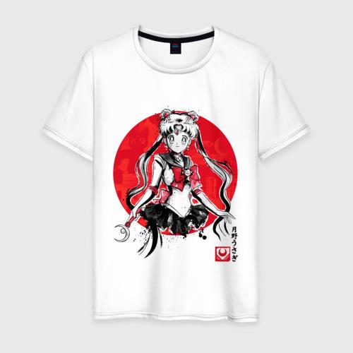 Мужская футболка хлопок Sailor Moon (Suibokuga Ver.)