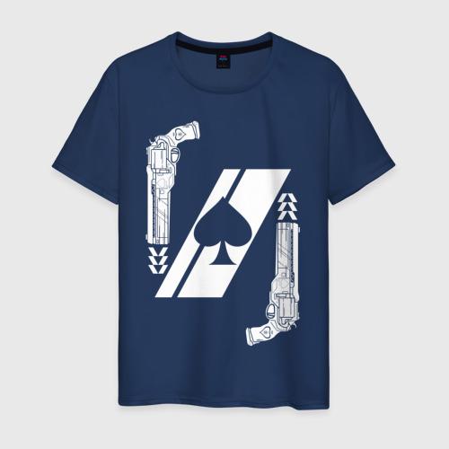 Мужская футболка хлопок CAYDE-6