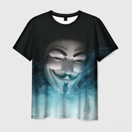 Мужская футболка 3D ВЕНДЕТТА