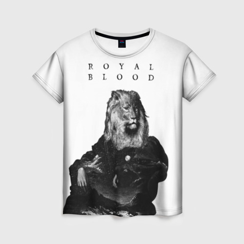 Женская футболка 3D Royal Blood