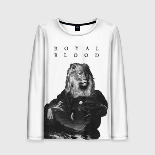 Женский лонгслив 3D Royal Blood