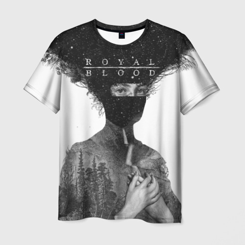 Мужская футболка 3D Royal Blood