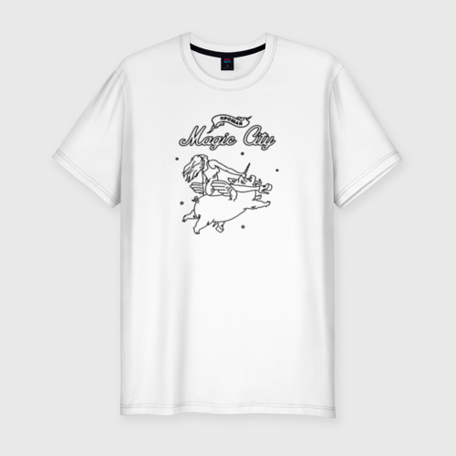 Мужская футболка премиум LSP - Magic City
