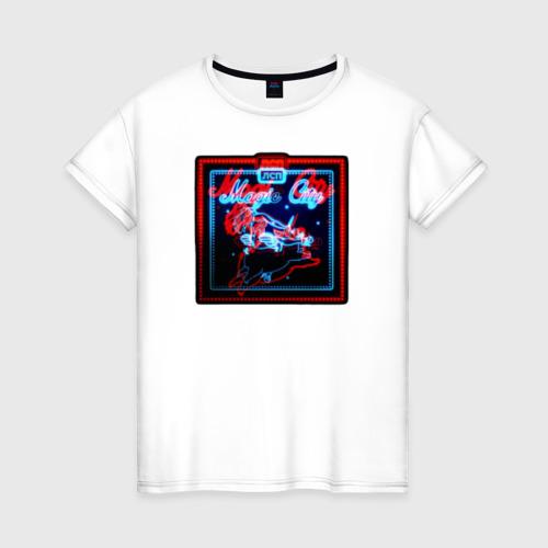 Женская футболка хлопок LSP - Magic City
