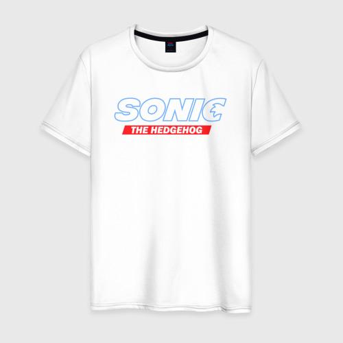 Мужская футболка хлопок Соник Ёжик