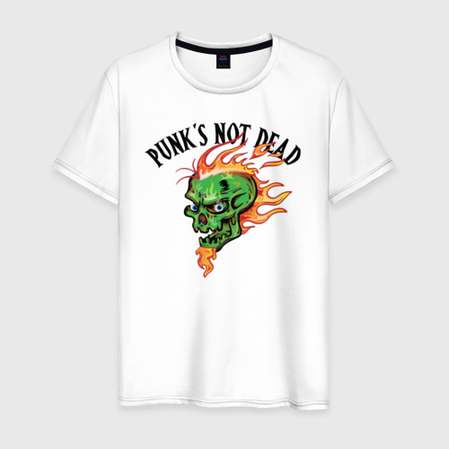 Мужская футболка хлопок Punk's not dead