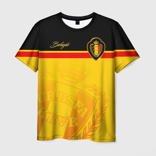 Мужская футболка 3D Бельгия
