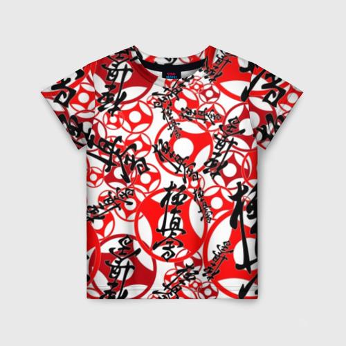 Детская футболка 3D Каратэ киокушинкай