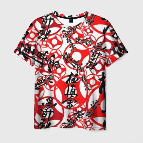 Мужская футболка 3D Каратэ киокушинкай