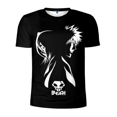 Мужская футболка 3D спортивная BLEACH minimal