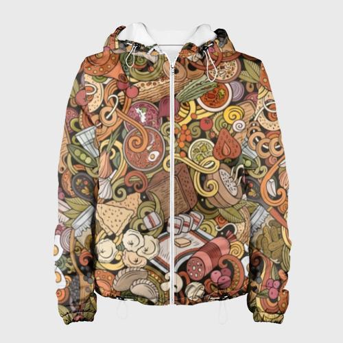 Женская куртка 3D Русская еда