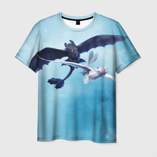 Мужская футболка 3D Fury