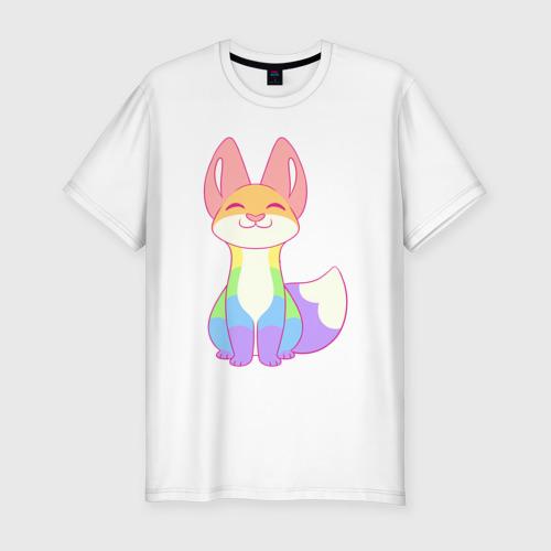 Мужская футболка хлопок Slim Cat