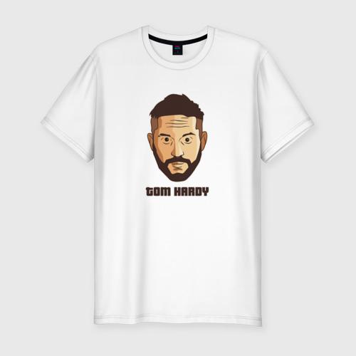 Мужская футболка хлопок Slim Tom Hardy