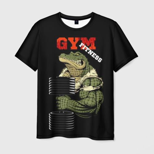Мужская футболка 3D GYM fitness