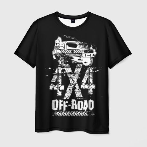 Мужская футболка 3D Off road