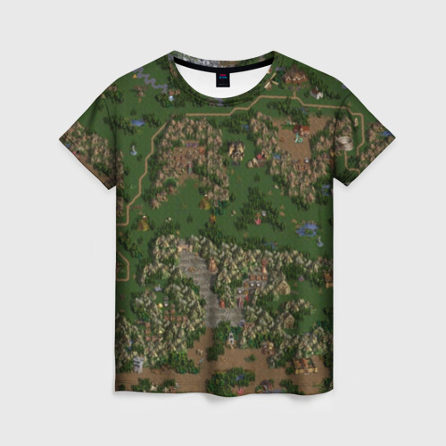 Женская футболка 3D HoMM 3