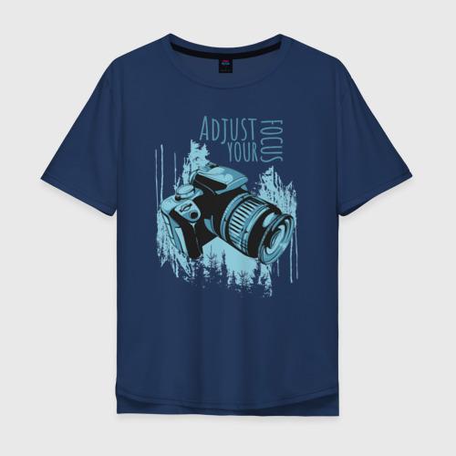 Мужская футболка хлопок Oversize Фотограф