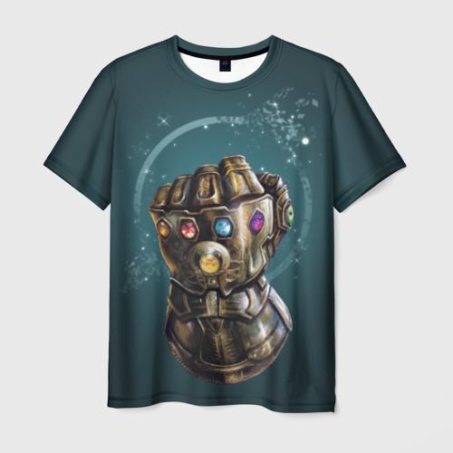 Мужская футболка 3D Infinity Gauntlet