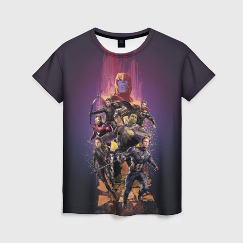 Женская футболка 3D Avengers & Thanos