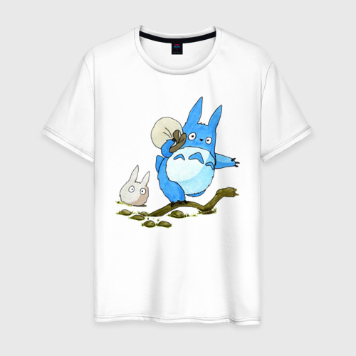 Мужская футболка хлопок Tonari no Totoro