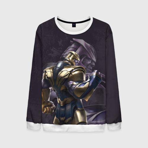 Мужской свитшот 3D Thanos dark
