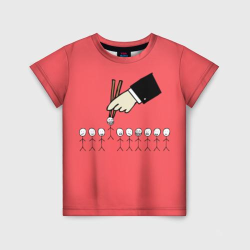 Детская футболка 3D HR