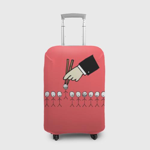 Чехол для чемодана 3D HR